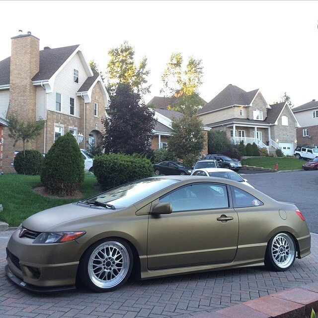 brass knuckle pearl Civic