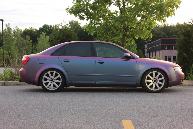 Star Cluster colorshift Audi A4