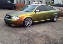 Radioactive gold pearl Audi (fire flip)