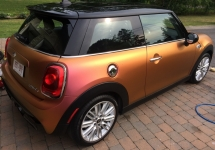 Orange fire colour shift Cooper